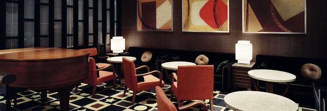 富山第一ホテルラウンジ